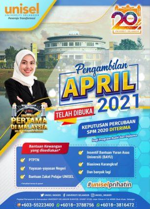 intake April 2021/3