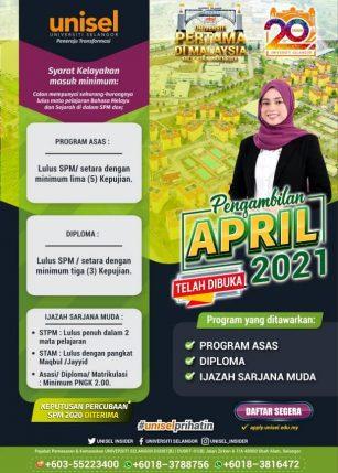 intake April 2021/2